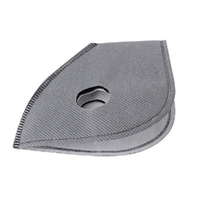 1 PC Filter for Face Masks MTB Road Cycling Anti-Dust PM2.5 Replacement With Active Carbon Filter Good Protector Grey