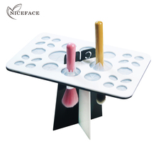 Nice Face Makeup brush drying rack dry brush holder convenient and practical to dry brush artifact Cosmetics Make Up Tools(China)