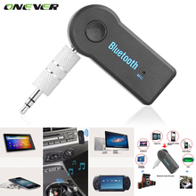Onever Universal 3.5mm Car Bluetooth Audio Music Receiver Adapter Auto AUX Streaming A2DP Kit for Speaker Headphone