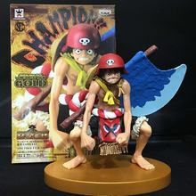 "Free Shipping 5"" Anime One Piece Film GOLD Monkey D Luffy Axe Ver. Boxed 13cm PVC Action Figure Collection Model Doll Toy Gift"
