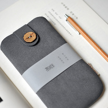 Original Simple Design Phone Bag Pouch External Battery Bag Universal Power Bank Case Grey Smartphone Bag  for iphone samsung LG