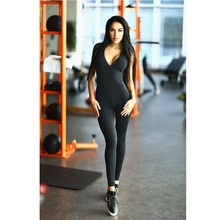YSMARKET Hot Sale Playsuits And Jumpsuits Women Sexy Bodycon Silk Backless Jumpsuit Fitness Leggings Women Sport Yoga Wear Y2001
