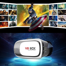 Professional VR BOX ii 2 3D Glasses VRBOX Upgraded Version Virtual Reality 3D Video Glasses Support Android IOS smart phone