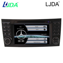 "LJDA 7""2 IND Wince 6.0  For Mercedes/Benz W211 Radio free map Car DVD Player GPS Navigation Digital Media Format  rear camera"