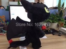 Cartoon Movie How to Train Your Dragon 30CM Plush Toy Toothless Night Fury Dragon Stuffed Animal Doll Puppets Best Gift for Kid