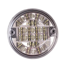 1Pcs LED 12V/24V 140mm Automobile Reverse Light Clear Back Up Lamp Waterproof Truck Trailer Lights(China)