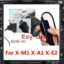 Shutter Release Cable Cord Wired Remote Control As RR-90 RR90 For Fuji Fujifilm X100T X-T1 X-M1 X-A1 X-A2 X-E2 X-Q1 XM1 XE2 S1