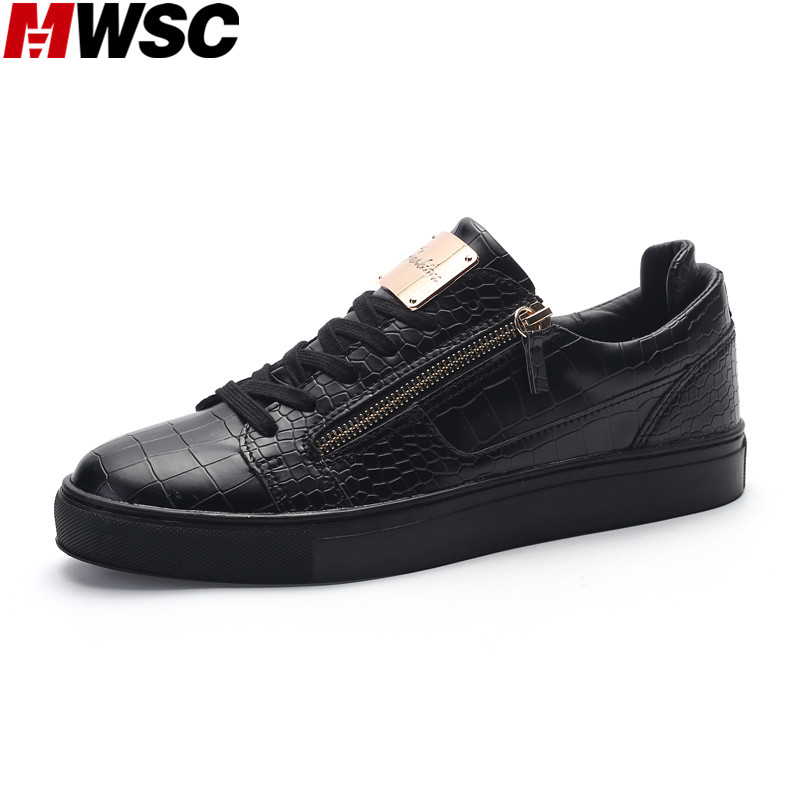 MWSC Luxury Design Mens Breathable Casual Shoes New Zipper Fashion Korean Style Trending Shoes Zapatos Hombre<br><br>Aliexpress