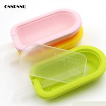 Silicone Ice Cream Mold High Quality Ice Cream Popsicle Molds Silica Gel Membrane Ice Cream Sandwich Makers Kitchen Accessories(China)
