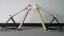 carbon mtb bicycle frame 29er 142mm thru axle race bike mountain bike painting colors OEM design