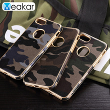 Camouflage Military Phone Case 4.7For iPhone 7 Case For Apple iPhone 7 iPhone7 Cell Phone Back Cover Case(China)