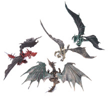 TOYZHIJIA 1PCS Educational Toy for Children Baby Gifts DIY Assembling Dragons with Wings Dinosaur Action Figures Classic Toys(China)