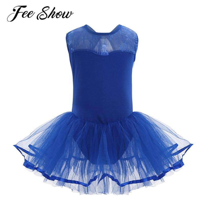 Kid Baby Girl Bow Leotards Tops Bodysuit Dancewear Dress Solid Princess Clothes