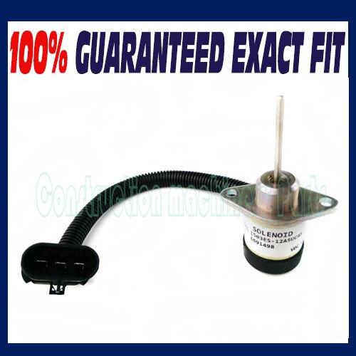 Fit BOBCAT FUEL SHUT OFF SOLENOID SWITCH Skid S130 S150 S160 S175 S185 S205 S450<br>