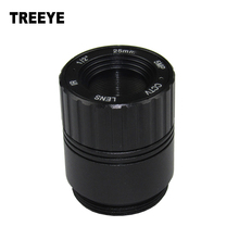 "HD 5.0Megapixel IR CCTV Lens 25mm/16mm CS Lens 5MP for HD Security Cameras  F2.4 Image Format 1/2"" Metal HFOV 15D"