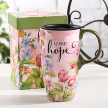 ceramic coffee mug flowers printing with lids cups and mugs Ceramic cup Porcelain Tea Coffee Milk mugs Birthday good Gift
