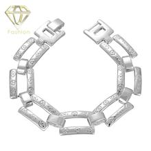 Italian Charm Bracelet 2017 New Style Silver Plated Exquisite Ladders Shape Bracelet Jewelry