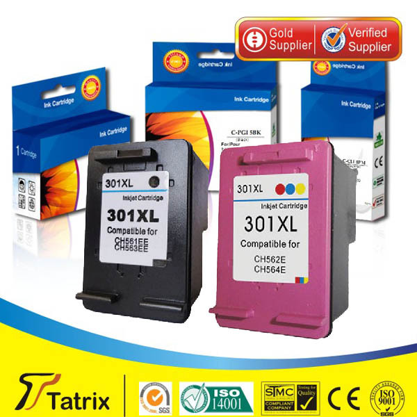 Reman for HP 301 XL color ink cartridge for HP Deskjet 1000 1050 2000 2050 3000 3050 3050se 1050A 2050A 2054A 3050A 3052A 3054A<br><br>Aliexpress