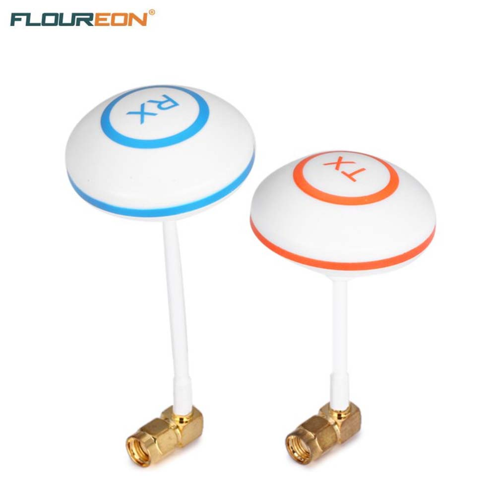 FPV 5.8 GHz Antenna Clover Leaf Mushroom Aerial Set with L Style RP-SMA Plug for RC Helicopter(China (Mainland))