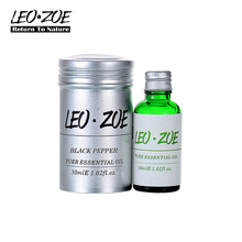 Well-known brand LEOZOE black pepper essential oil Certificate origin India High quality Aromatherapy black pepper oil 30ML(China)