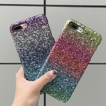 Buy AIBOR Luxury Sexy Diamond Secret Colorful Gradient Glitter Bling Powder Case iPhone 6 6S Sparkle Cover iPhone X 7 8 Plus for $1.88 in AliExpress store