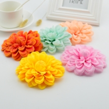 1pcs 10cm Silk daisy sunflower artificial flower wedding party party DIY wreath clip art process false flower gerbera