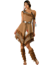 Women Cosplay Ladies Fancy Dress Costumes Wild West Indian costume E110(China)
