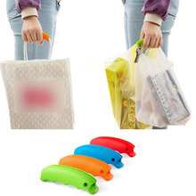 1Pc Silicone Shopping Bag Basket Carrier Grocery Holder Handle Comfortable Grip Popular Carry Shopping Basket Comfortable Grip(China)