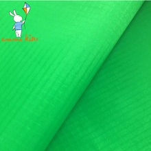 Green 40D Thin Waterproof Outdoor Nylon Fabric for Kite Making Lightweight PU Coating Indoor Home Garden Cover Fabric(China)