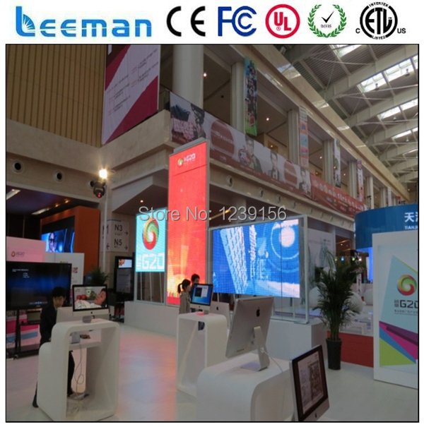 led commercial advertising display screen|led street advertising screen|glass windows led screen(China)