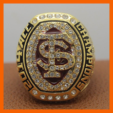 2014 ACC FLORIDA STATE SEMINOLES MEN'S FOOTBALL NCAA NATIONAL CHAMPIONSHIP RING