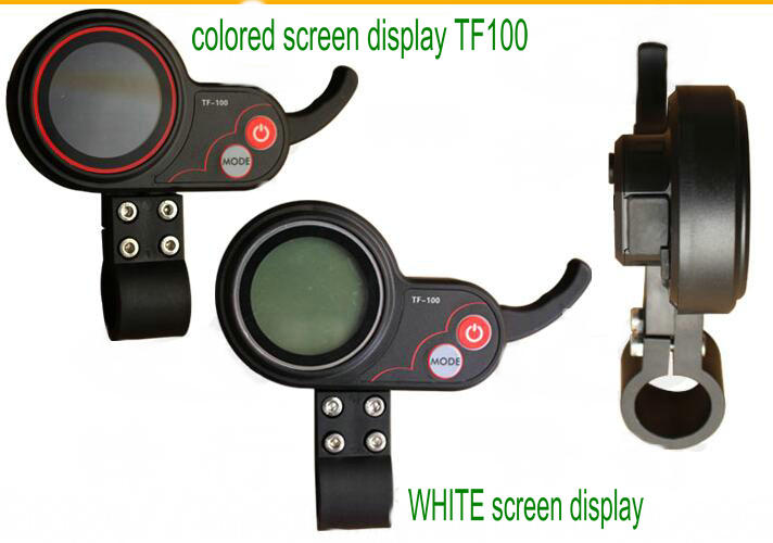 white screen and colored screen display tf100