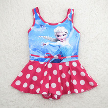 FINAL SALE!!! One piece Children Swimwear hello kitty design Gilrs swimsuit one piece kids swimwear swimsuit for girl SW069-CGR3