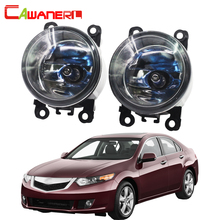 Cawanerl For Acura TSX 2011-2014 100W High Power H11 Car Light Halogen Bulb Fog Light DRL Daytime Running Lamp 12V 2 Pieces(China)