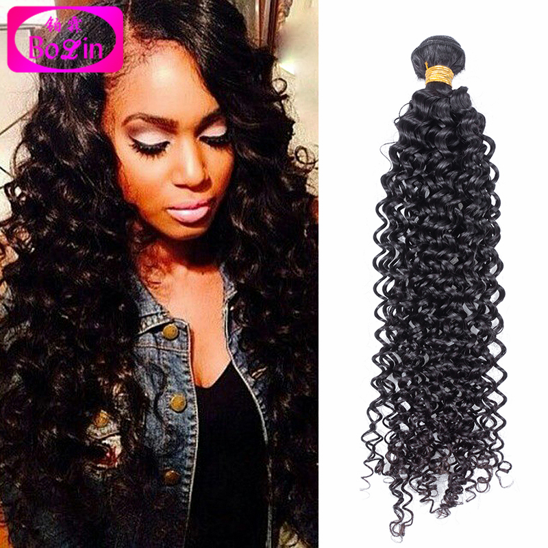6A Unprocessed Curly Human Hair Brazilian Deep Curly Virgin Hair 3 Bundles Brazilian Deep Wave Virgin Hair Brazilian Curly<br><br>Aliexpress