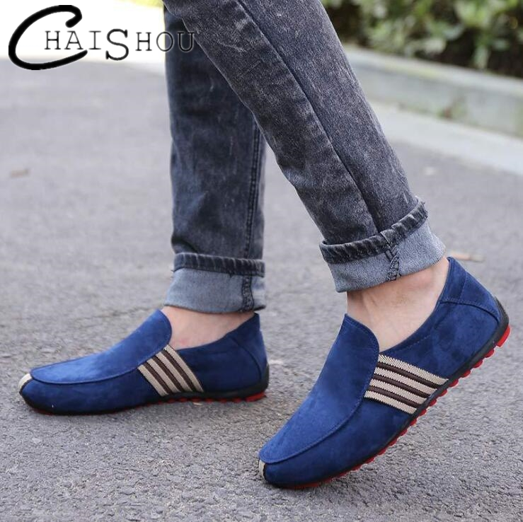 New Men Casual Shoes 2018 Fashion canvas Men Loafers Moccasins Slip Men's Flats Loafers Male Shoes Breathable Peas shoes C158