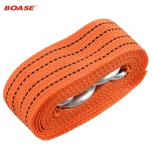 Brand New 3 Tons 4 Meter Flsorescence Universal Car Tow Cable Towing Strap Rope with Hooks