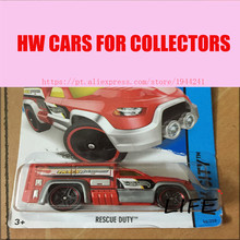 Toy cars Hot Wheels 1:64 Rescue Duty Car Models Metal Diecast Cars Collection Kids Toys Vehicle For Children Juguetes 51(China)