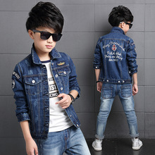 Children Clothes Jacket 2017 Spring New Denim Boys Jean Jackets Fashion Kids Clothing Coat Casual Outerwear Boys Blazer Jackets
