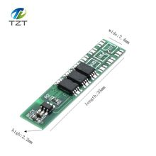 Single series 18650 3.7V to 4.2 V lithium battery protection board working current is 5 A 7.5 A current limit protection can sp