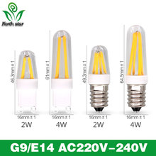 Best quality guarantee 2years E14 LED Bulb G9 LED Bulb E14 220V Filament Light AC220V g9 e14 corn Bulb Lamp 2W 4W Light Lamp(China)