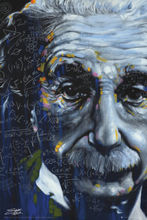 Qunexc- 24X36 INCH / ART SILK POSTER / ALBERT EINSTEIN - POP-ART POSTER / PRINT (IT'S ALL RELATIVE)