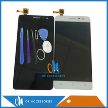 Black White Color For Hisense C20 LCD Screen Display+Touch Screen Digitizer High Quality With Free Tools 1PC /Lot(China)