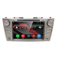8 Inch Android 6.0 Car DVD Player GPS Navigation System for Toyota Camry 2007 2008 2009 2010 2011 (DTV DAB+ Optional)