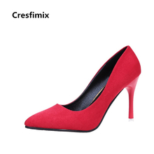 Buy Cresfimix women fashion classic 7cm high heels female cute slip high heel shoes lady spring summer pumps leisure shoes for $10.89 in AliExpress store