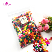 500pcs/lot 30-50mm Big Crystal Soil Mud Hydrogel Gel Kids Toy Water Beads Growing Up Water Balls Wedding Home Flower Decoration(China)