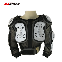 MXRIDER  Model Professional Motorcycle Body Protector Motocross Racing Full kids  Body Armor Spine Chest Protective Jacket Gear