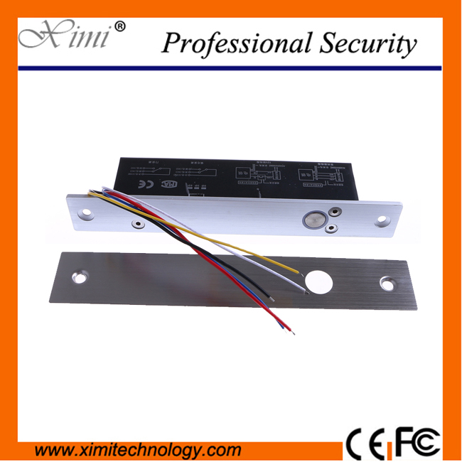 5 line electric bolt lock with door state detection output point timer for access control low temperature electric bolt lock<br>