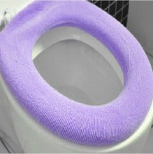 Newest Toilet Seat Cover Fashion Bathroom Warmer Toilet Washable Cloth Seat Cover Pads 1 Pcs
