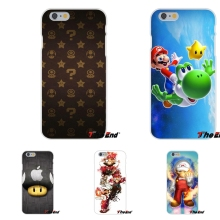 Funny Super Mario Bros Mushrooms Silicon Soft Phone Case For Huawei G7 G8 P8 P9 Lite Honor 5X 5C 6X Mate 7 8 9 Y3 Y5 Y6 II